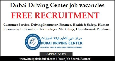 Dubai Driving Center Careers