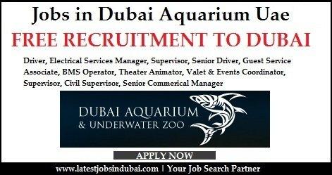 Dubai Aquarium Careers