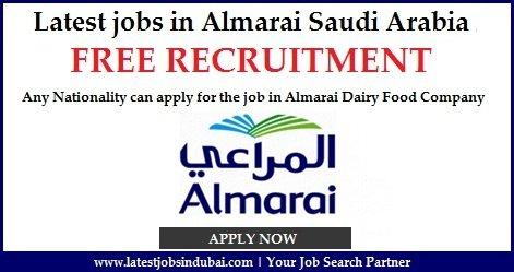 Almarai Careers Jobs In Dubai And Across Saudi Arabia