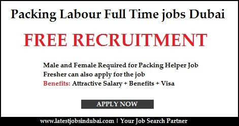Packing Labor Jobs in Dubai