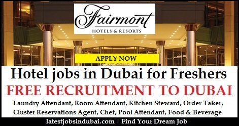 Fairmont Careers Dubai