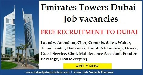 Jumeirah Emirates Towers Dubai Careers