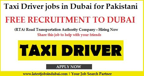 Taxi Driver Jobs in Dubai