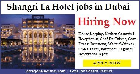 Shangri La Careers