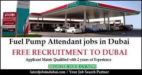 Fuel Pump Attendant Jobs