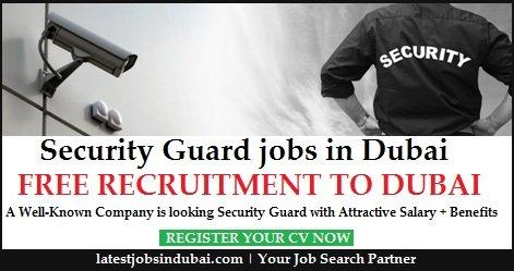 Security Guard Jobs in Dubai