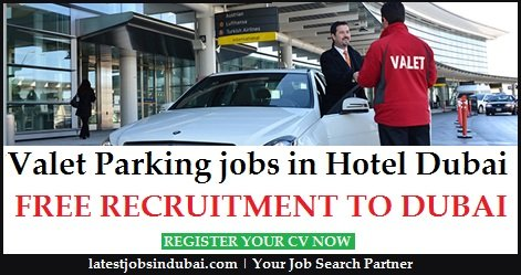 Valet Parking Jobs in Dubai
