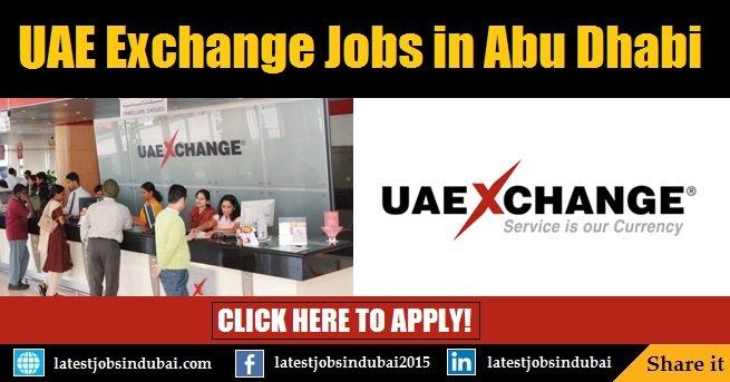 Uae Exchange Careers 2018 And Job Vacancies In Abu Dhabi