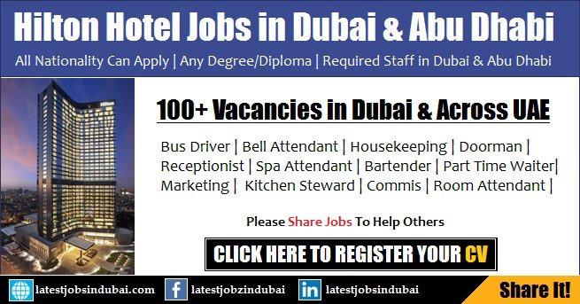 Hilton Hotel Careers & Jobs in Dubai and Abu Dhabi
